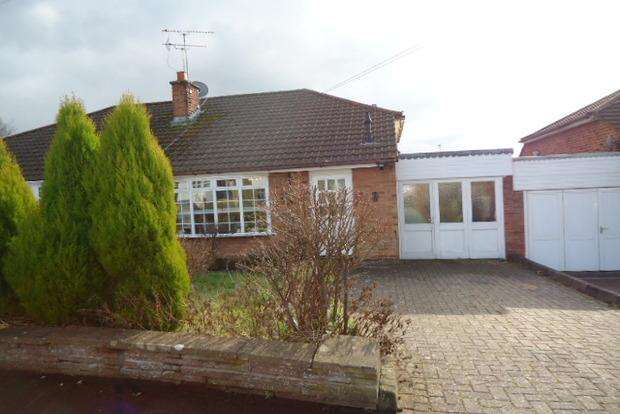 2 Bedrooms Bungalow for sale in Pits Avenue, Braunstone Town, Leicester, LE3