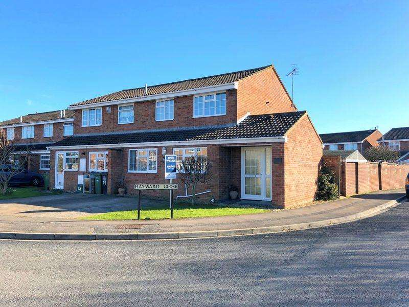 3 Bedrooms Terraced House for sale in Hayward Close, Clevedon