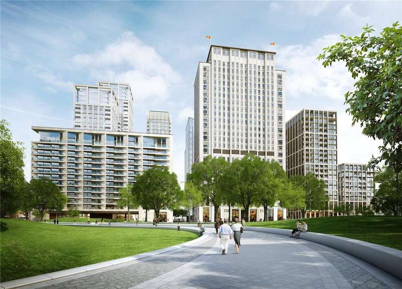 3 Bedrooms Flat for sale in Southbank Place, Belvedere Road, London, SE1
