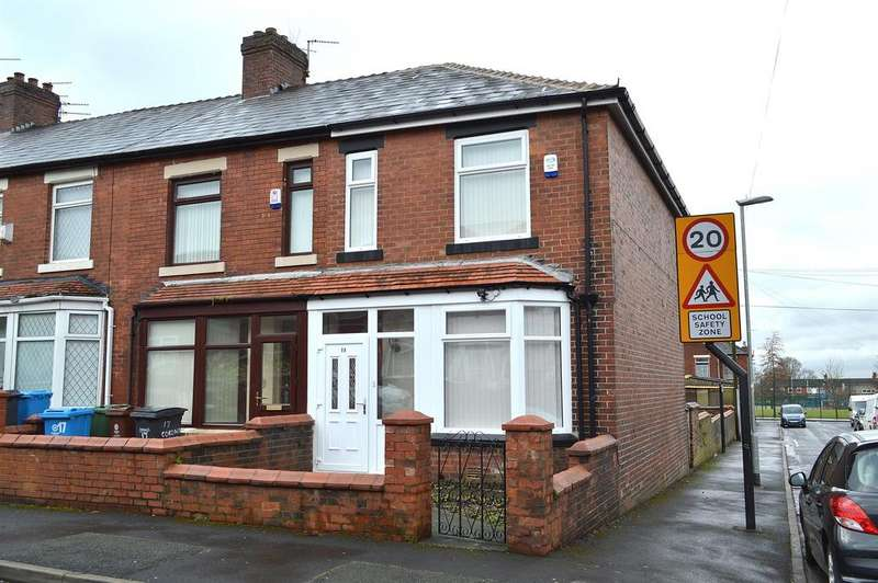 3 Bedrooms End Of Terrace House for sale in Corona Avenue, Hollins, Oldham, OL8 4JA