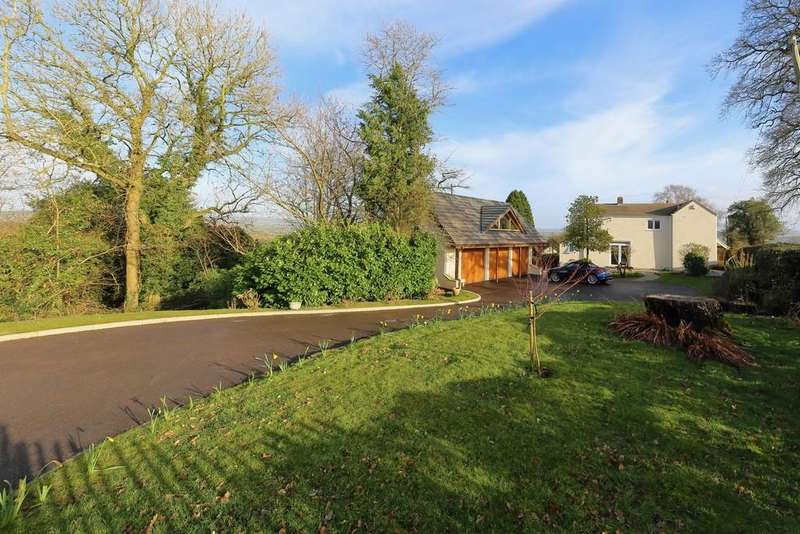 3 Bedrooms Detached House for sale in The Walks, Llandenny, Usk, Monmouthshire