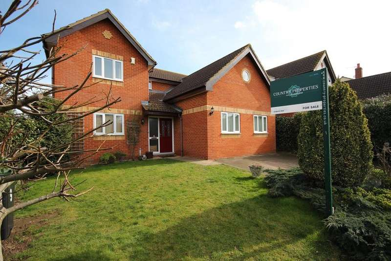 5 Bedrooms Detached House for sale in Hilltop View, Meppershall, Shefford, SG17