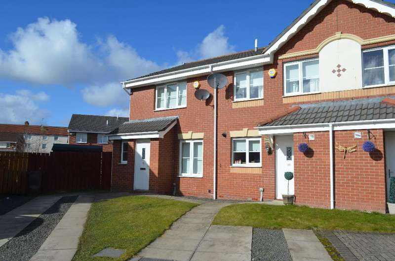 3 Bedrooms End Of Terrace House for sale in Newhouse Drive, Toryglen, Glasgow, G42 0EE