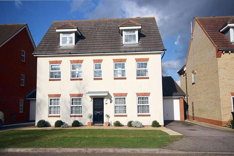 5 Bedrooms Detached House for sale in Chancellors, Arlesey, SG15