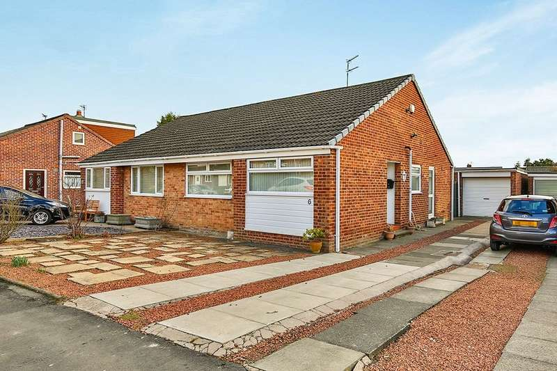 2 Bedrooms Semi Detached Bungalow for sale in Staffordshire Drive, Belmont, Durham, DH1