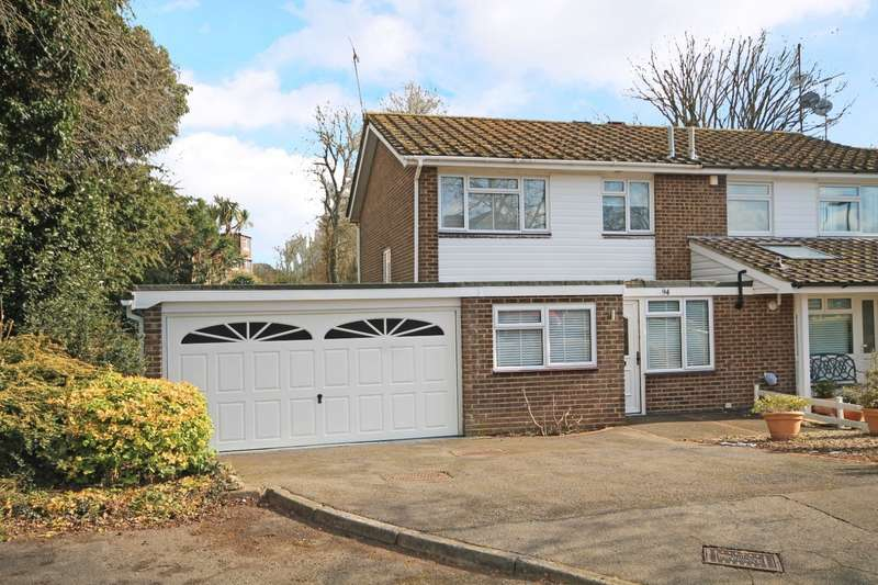 4 Bedrooms Semi Detached House for sale in Broomfield Drive, Billingshurst, RH14
