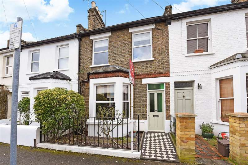 3 Bedrooms Terraced House for sale in Harcourt Road, Wimbledon