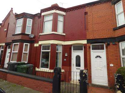 3 Bedrooms Terraced House for sale in Highfield Grove, Rock Ferry, Wirral, CH42
