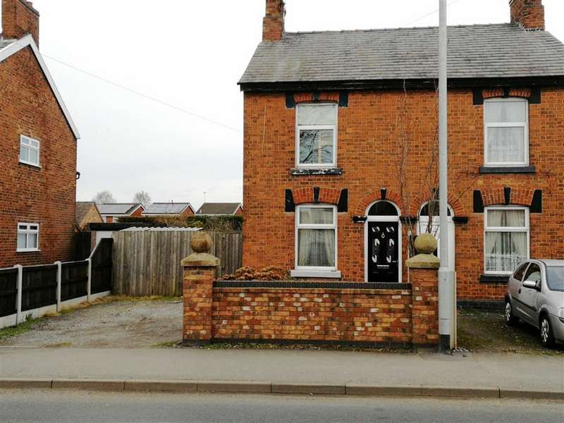 2 Bedrooms Semi Detached House for sale in Bradfield Road, Crewe, Cheshire