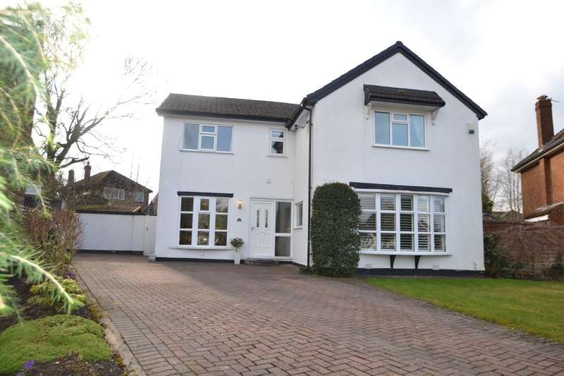 4 Bedrooms Detached House for sale in Silverdale Road, Gatley