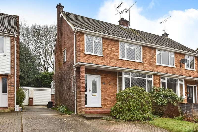 3 Bedrooms Semi Detached House for sale in Butler Road, Crowthorne, RG45