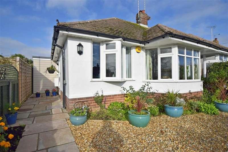 2 Bedrooms Semi Detached Bungalow for sale in Chaucer Avenue, , Rustington, West Sussex