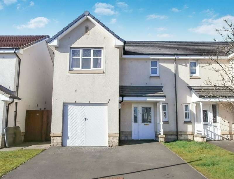 3 Bedrooms Semi Detached House for rent in Hamilton Gardens, Armadale, Bathgate, EH48