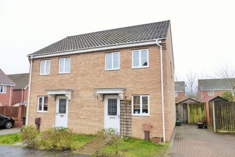 2 Bedrooms Semi Detached House for sale in Norwich