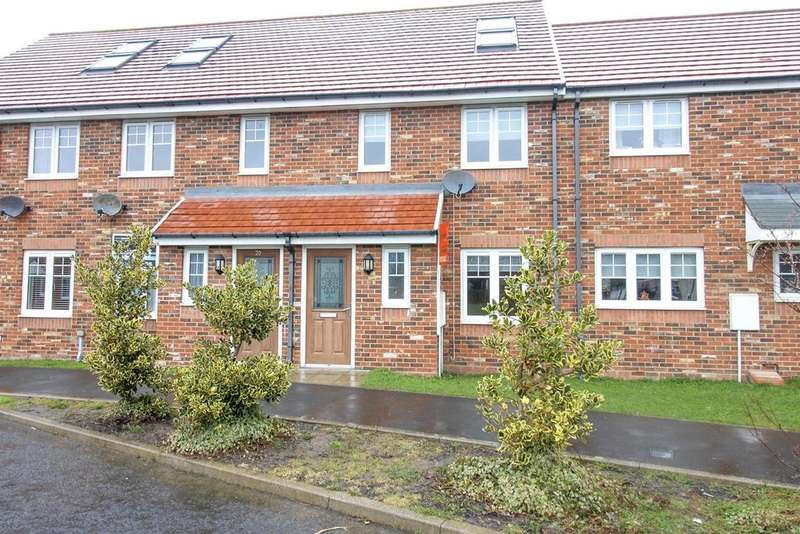 3 Bedrooms Terraced House for sale in Alnmouth Court, Blakelaw