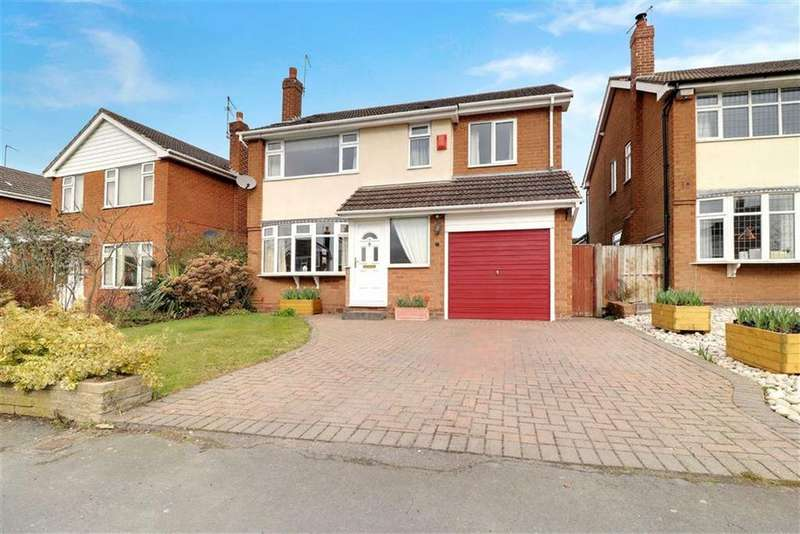 4 Bedrooms Detached House for sale in Rope Bank Avenue, Wistaston, Crewe