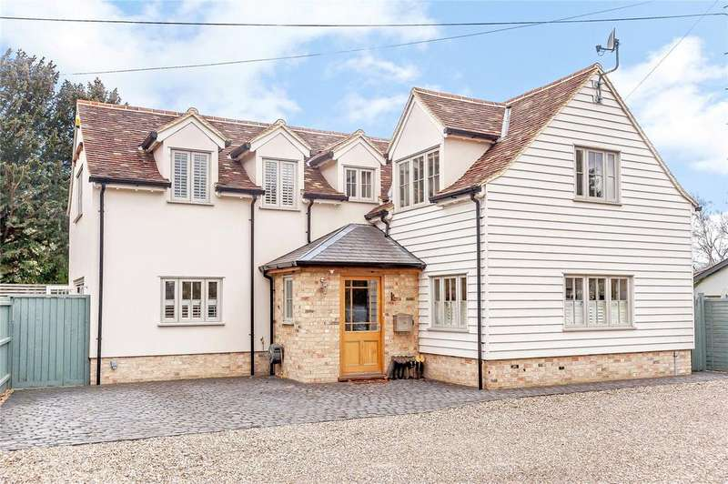 4 Bedrooms Detached House for sale in High Street, Harston, Cambridge