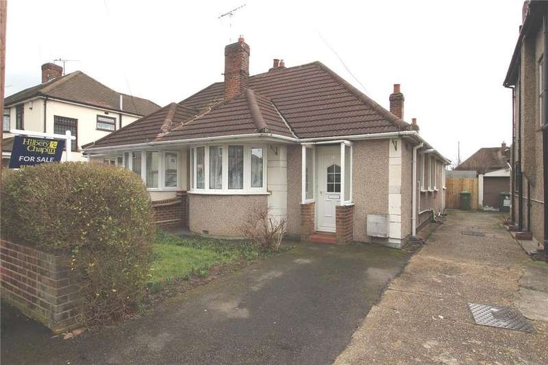 2 Bedrooms Semi Detached Bungalow for sale in Eyhurst Avenue, Hornchurch, RM12