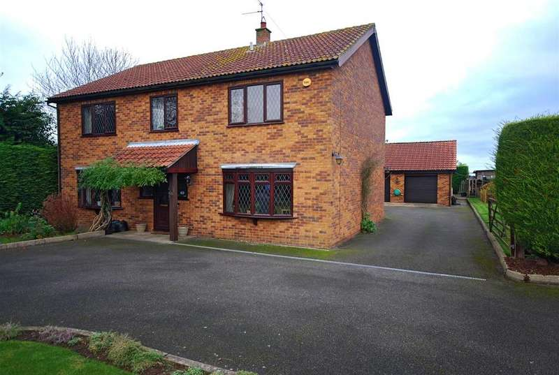 4 Bedrooms Detached House for sale in Backgate, Cowbit, Spalding