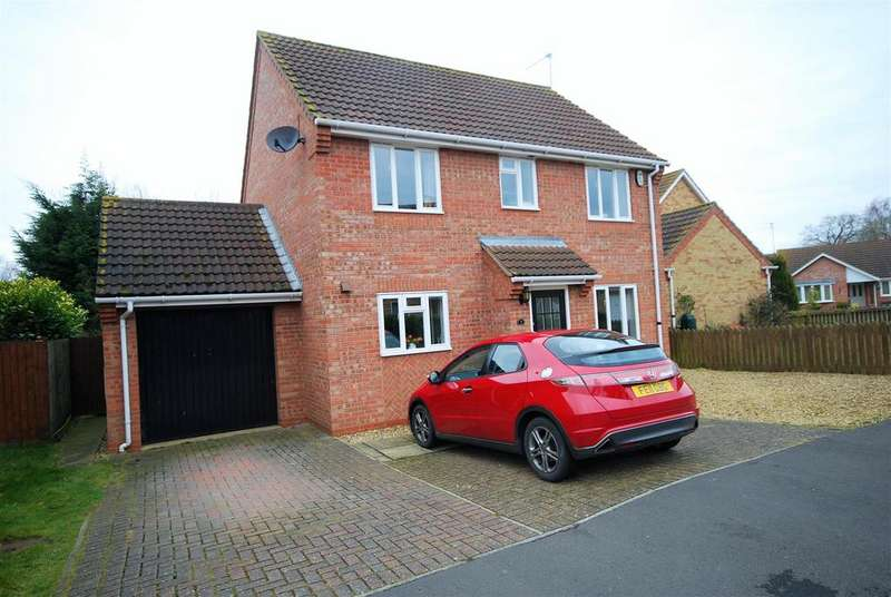 4 Bedrooms Detached House for sale in Glebe Walk, Cowbit, Spalding