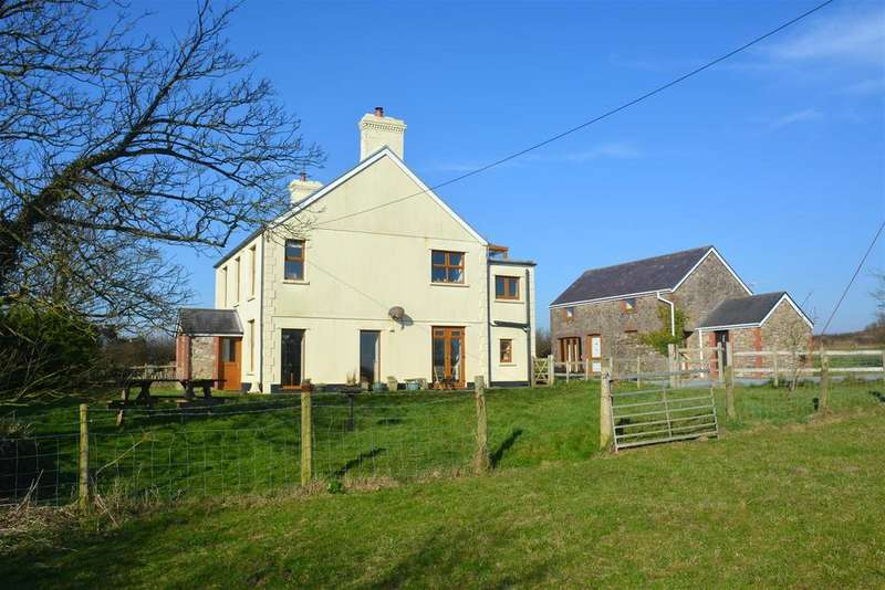 4 Bedrooms Detached House for sale in Burry Green, Reynoldston