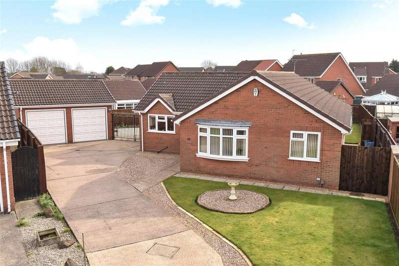 3 Bedrooms Detached Bungalow for sale in Gloria Way, Aylesby Park, DN37