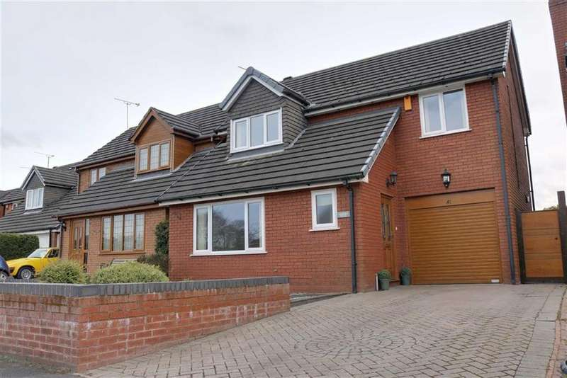 3 Bedrooms Detached House for sale in Millbeck Close, Weston, Crewe