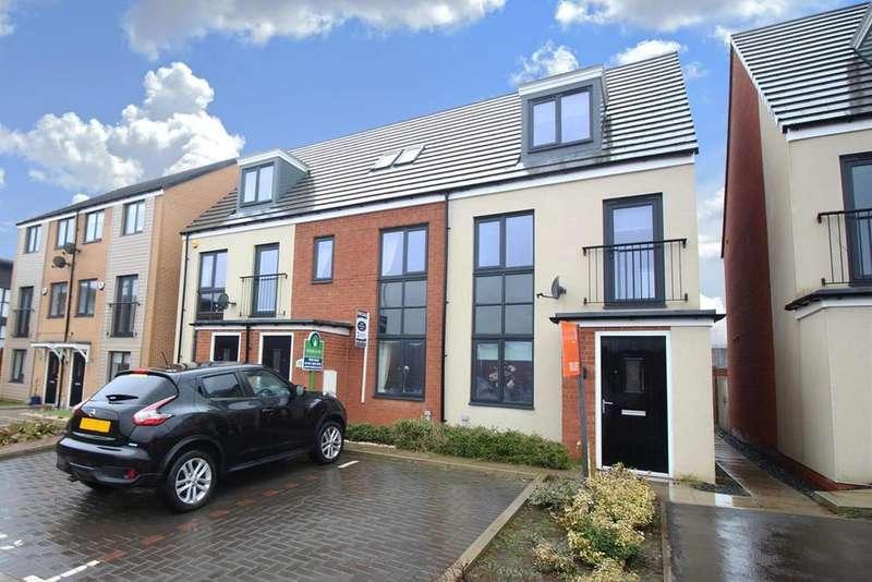 3 Bedrooms End Of Terrace House for rent in Elmwood Park Court, Brunton Grange, Newcastle Upon Tyne