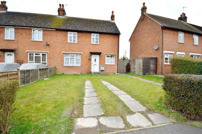 2 Bedrooms End Of Terrace House for sale in Defoe Crescent, Colchester