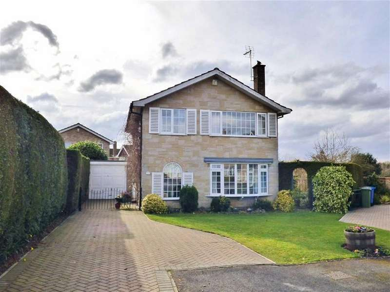 4 Bedrooms Detached House for sale in Willow Court, Stamford Bridge