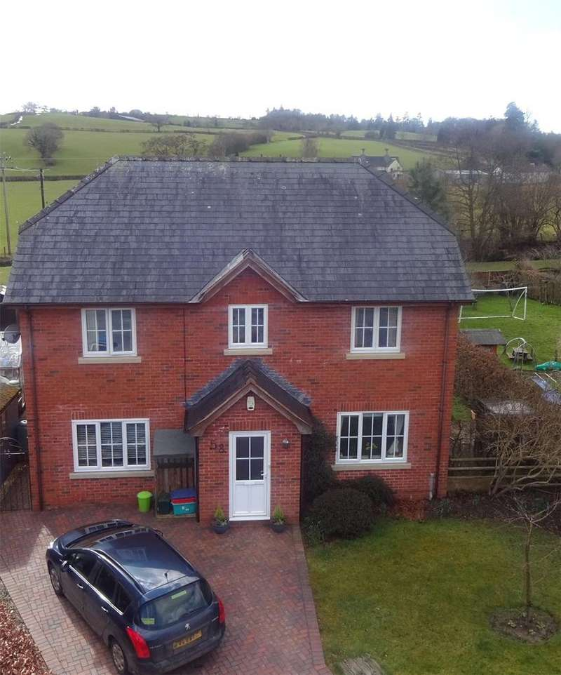 4 Bedrooms Detached House for sale in Parc Hafod, Tregynon, Newtown, Powys