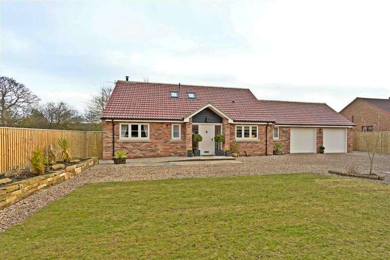 3 Bedrooms Detached Bungalow for sale in Orchard Lodge, Manor View, Rillington, Malton,YO17 8JY