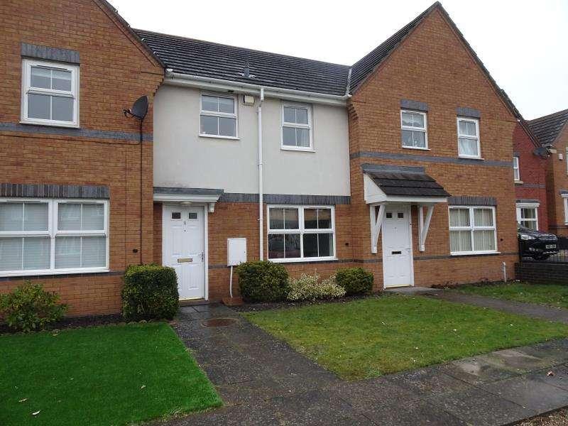 2 Bedrooms Terraced House for rent in Moorhen Close, Brownhills, Walsall, WS8 6EE