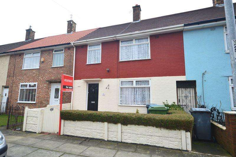 3 Bedrooms Terraced House for sale in Heaton Close, Speke
