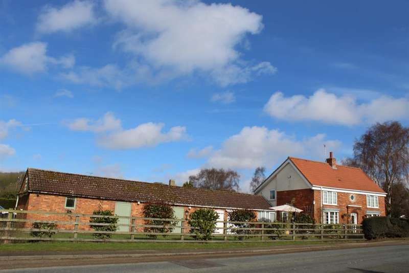4 Bedrooms Detached House for sale in Main Road, West Keal, Spilsby, PE23 4BE