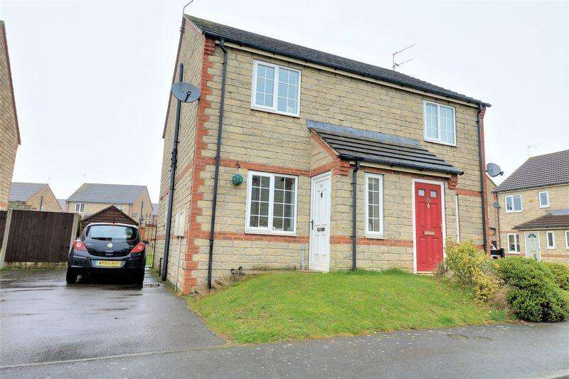2 Bedrooms Semi Detached House for sale in Peach Tree Close, Scunthorpe