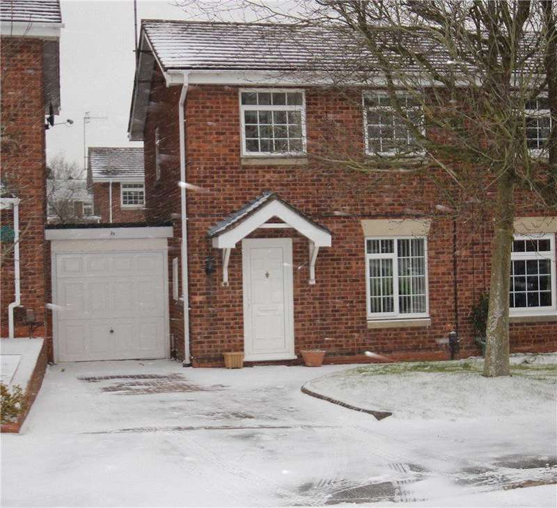 3 Bedrooms Semi Detached House for rent in Kingscote Close, Church Hill North, Redditch, B98