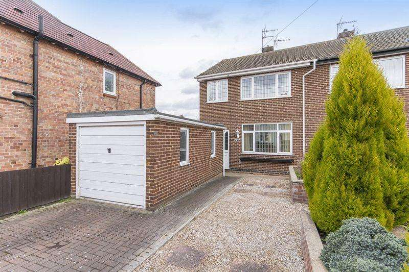 3 Bedrooms Semi Detached House for sale in BRIGHTON ROAD, ALVASTON