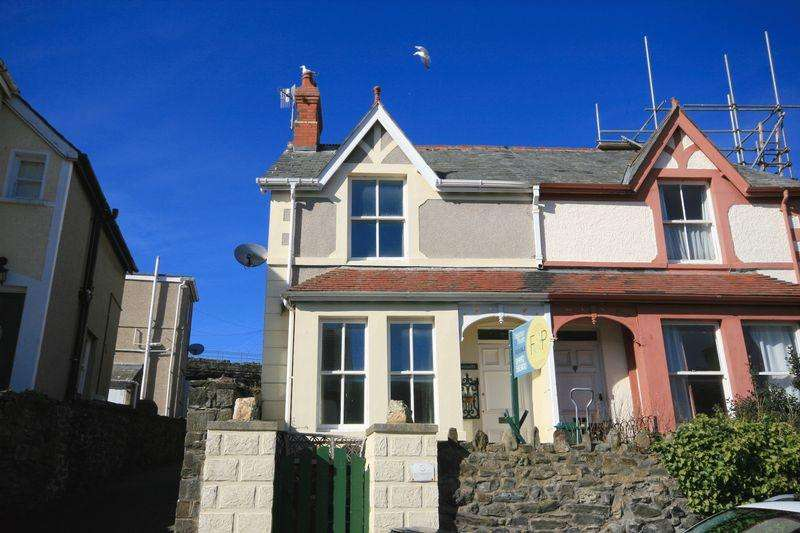 2 Bedrooms Semi Detached House for sale in Chapel Street, Conwy