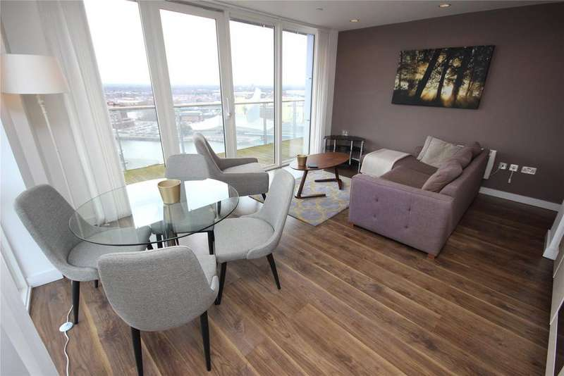2 Bedrooms Flat for rent in NumberOne, MediaCityUK, Salford Quays, M50