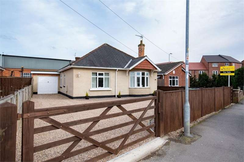 3 Bedrooms Detached Bungalow for sale in Brothertoft Road, Boston, Lincolnshire