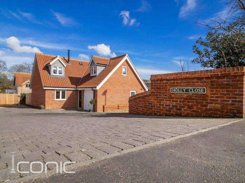4 Bedrooms Detached Bungalow for sale in Holly Close, Taverham, Norwich