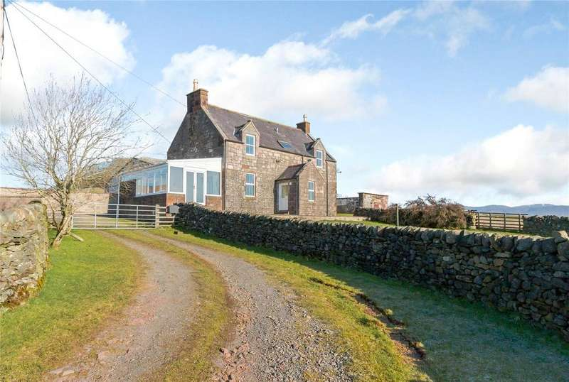 3 Bedrooms Detached House for sale in Woodhead Farmhouse, Marrburn Road, Penpont, Thornhill, Dumfriesshire