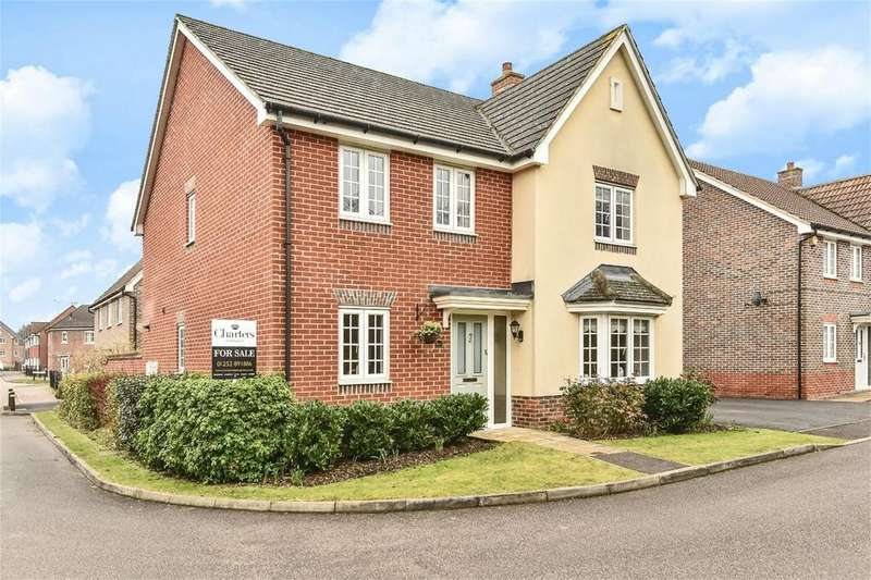 4 Bedrooms Detached House for sale in Aldershot, Hampshire