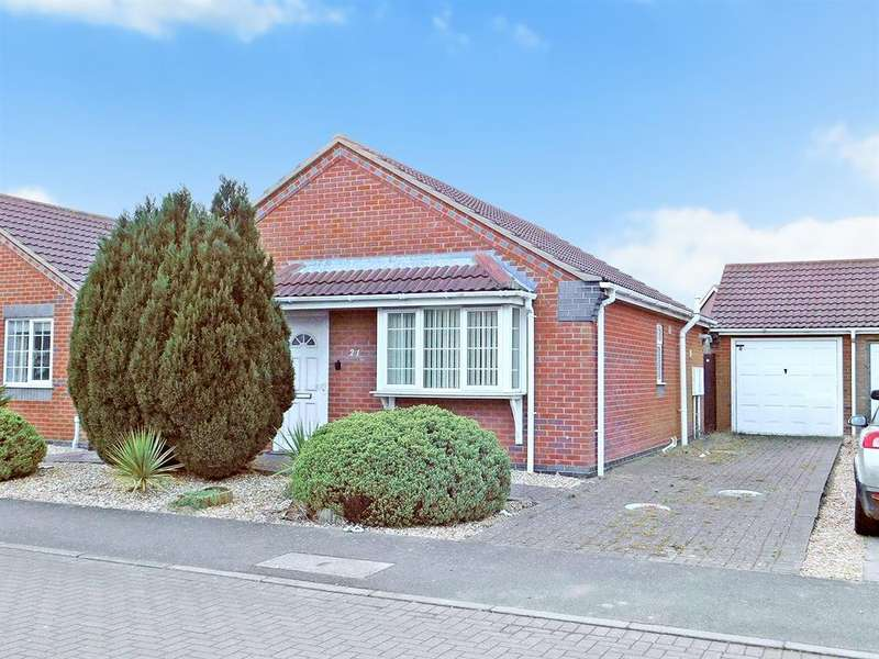 2 Bedrooms Detached Bungalow for sale in Winston Drive, Skegness, PE25 2RE