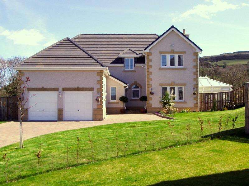 4 Bedrooms Detached House for sale in Drum Gate, Abernethy, Perthshire, PH2 9SA