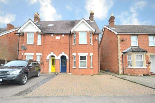 4 Bedrooms Semi Detached House for sale in Yorktown Road, College Town, Sandhurst
