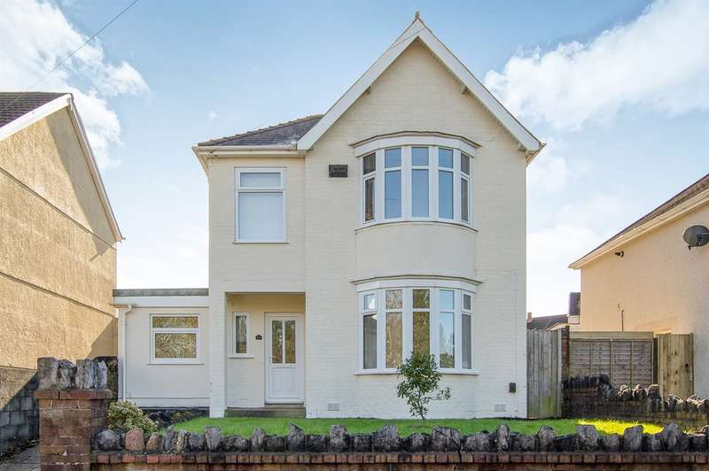 3 Bedrooms Detached House for sale in Llwyn Crwn Road, Llansamlet, Swansea