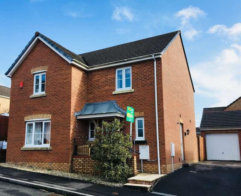 4 Bedrooms Detached House for sale in Plorin Road, North Cornelly, Bridgend