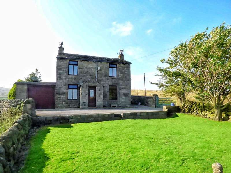 4 Bedrooms Detached House for sale in Flower Scarr Road, Sourhall, Todmorden, Lancashire, OL14
